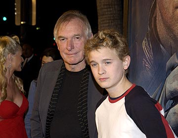 Premiere: Peter Weir and Max Pirkis at the LA premiere of 20th Century Fox's Master and Commander: The Far Side of the World - 11/11/2003