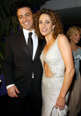 Matt LeBlanc and Melina Kanakaredes InStyle/Warner Bros. Golden Globes Party The Palm Court at the Beverly Hilton - Beverly Hills, CA - 1/16/05
