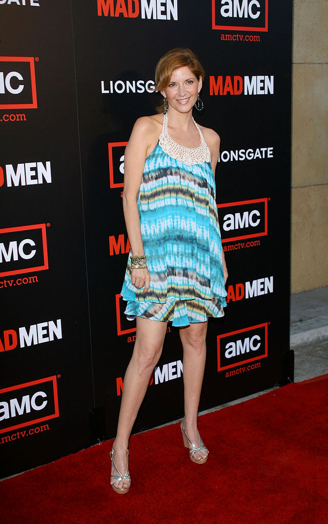 "Melinda Mcgraw arrives at the premiere of ""Mad Men"" Season 2 hosted by AMC held at the Egyptian Theatre on July 21, 2008 in Hollywood, California."