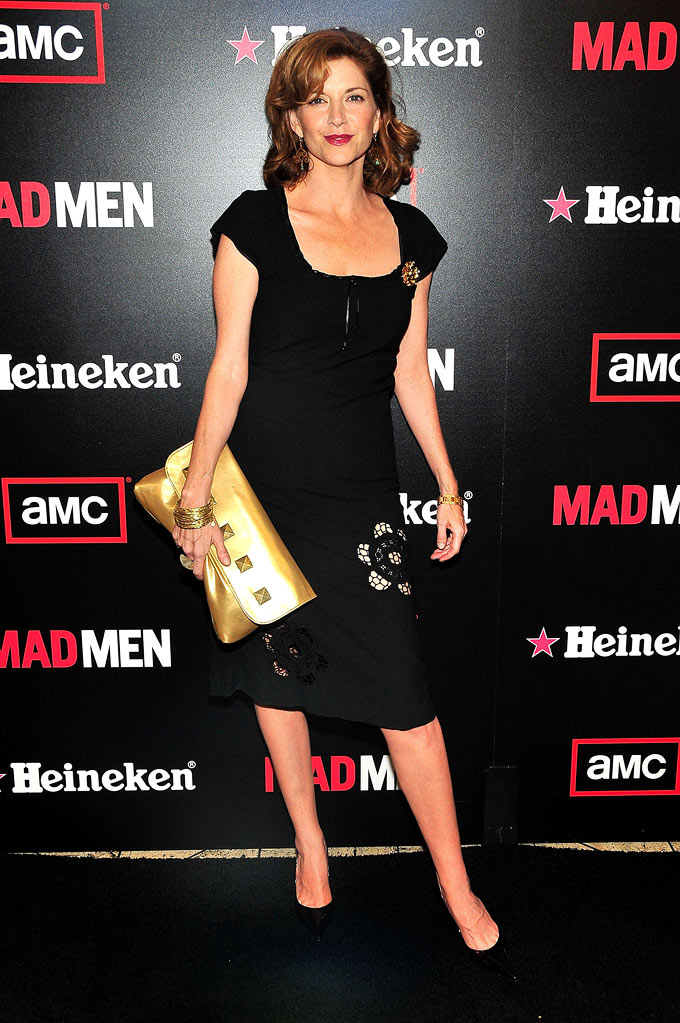 Melinda Mcgraw arrives at the AMC & Heineken Host Season 2 Wrap Party for the Emmy-Nominated Show Mad Men at the Cicada  on August 23rd, 2008 in Los Angeles, California.