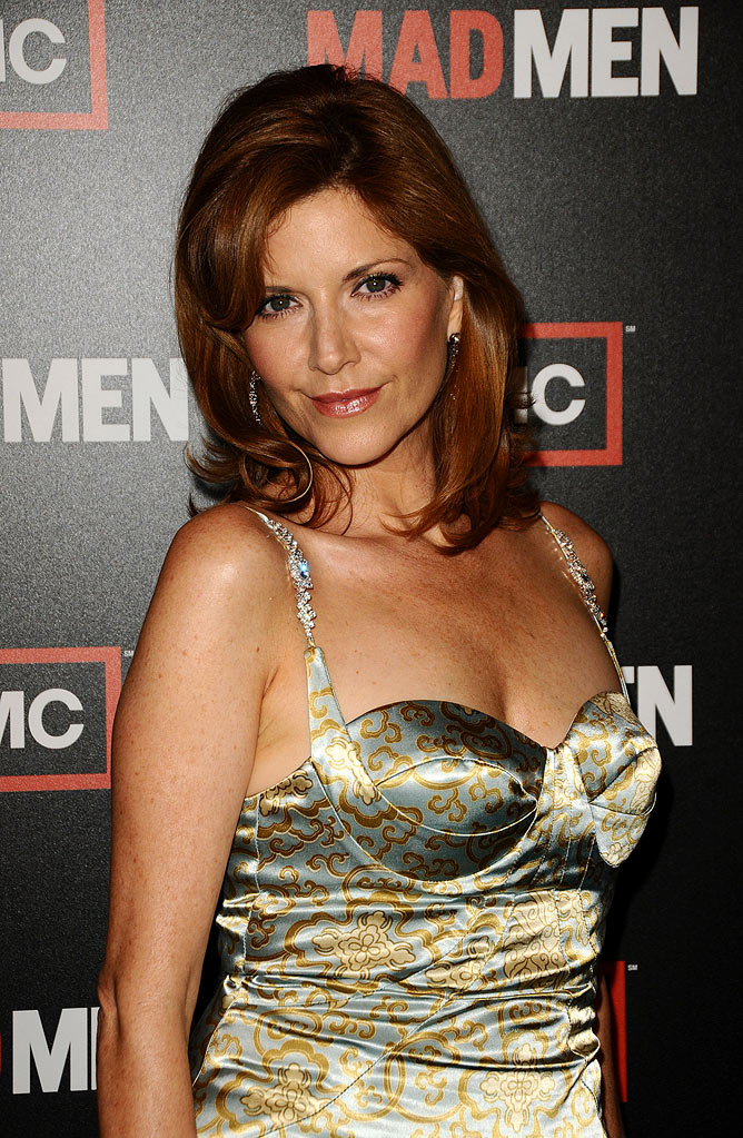"Melinda Mcgraw attends the 3rd season premiere of ""Mad Men"" at the Directors Guild Theatre on August 3, 2009 in West Hollywood, California."
