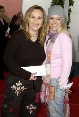 Premiere: Melissa Etheridge and Tammy Lynn Michaels at the LA premiere of Universal's Dr. Seuss' The Cat in the Hat - 11/8/2003
