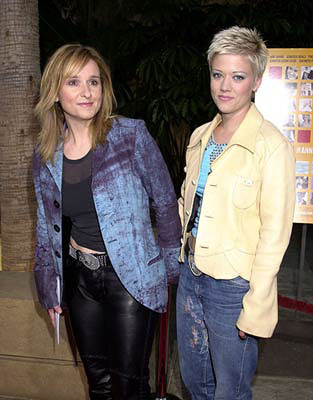 Premiere: Melissa Etheridge and Tammy Lynn Michaels at the Hollywood premiere of Fine Line's The Anniversary Party - 6/6/2001