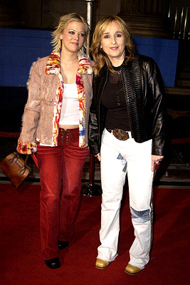 Premiere: Tammy Lynn Michaels and Melissa Etheridge at the Hollywood premiere of The Royal Tenenbaums - 12/6/2001
