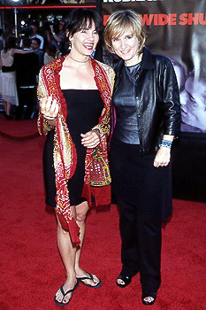 Premiere: Julie Cypher and Melissa Etheridge at the LA premiere for Eyes Wide Shut Photo by Jeff Vespa/Wireimage.com