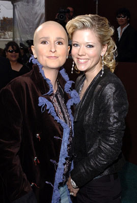 Melissa Etheridge and Tammy Lynn Michaels The 47th Annual GRAMMY Awards - Arrivals Staples Center - Los Angeles, CA - 2/13/05