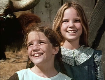 Melissa Gilbert and Melissa Sue Anderson 'Little House on the Prairie' on TV Land