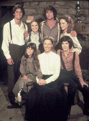 Linwood Boomer, Melissa Gilbert, Michael Landon, Melissa Sue Anderson, Matthew Laborteaux, Karen Grassle, Lindsay Greenbush/Sidney Greenbush 'Little House on the Prairie' on TV Land
