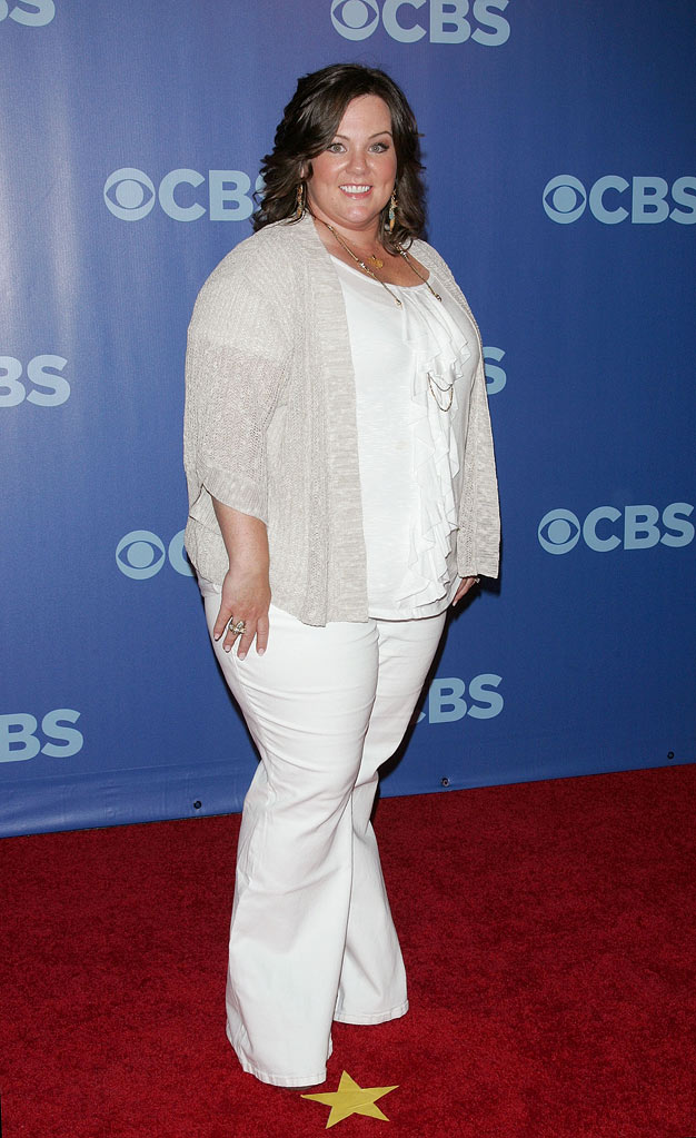 "Melissa McCarthy (""Mike & Molly"") attends the 2010 CBS Upfront at The Tent at Lincoln Center on May 19, 2010 in New York City."