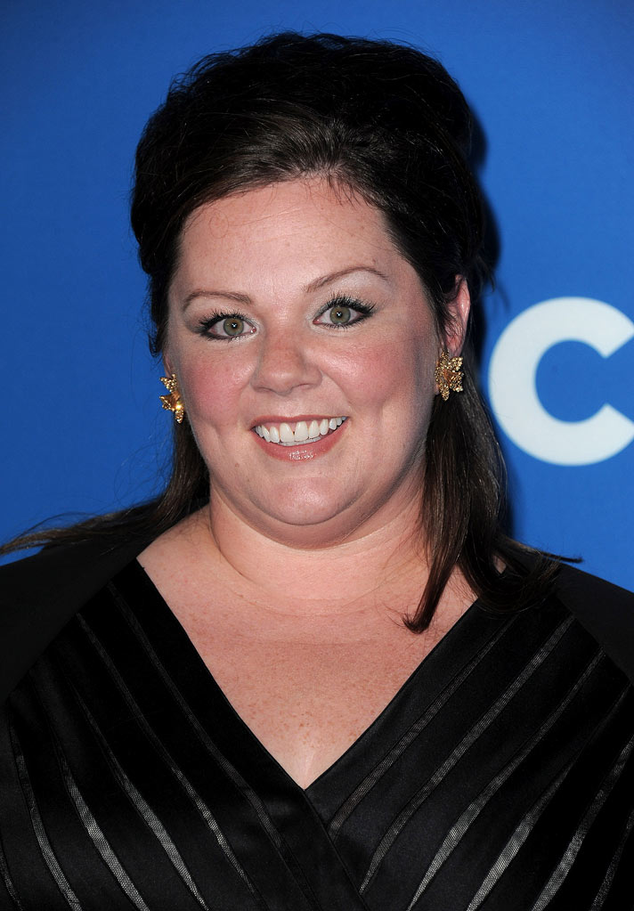 "Melissa McCarthy of ""Mike & Molly"" arrives at the CBS Fall Season Premiere party at The Colony on September 16, 2010, in Los Angeles."