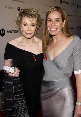 Joan Rivers and Melissa Rivers Cinema Against AIDS Gala Cannes Film Festival - 5/23/2002