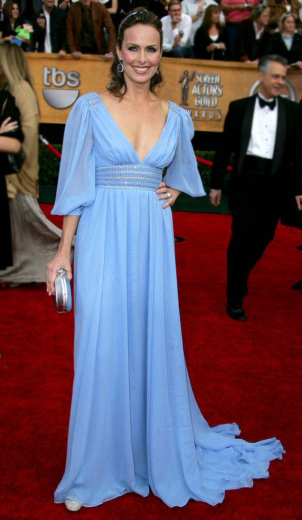 Melora Hardin at the 13th Annual Screen Actors Guild Awards.