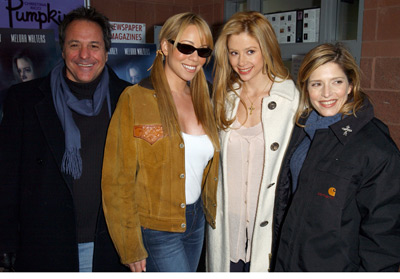 David Anspaugh, Mariah Carey, Mira Sorvino and Melora Walters Wisegirls premiere Sundance Film Festival 1/13/2002