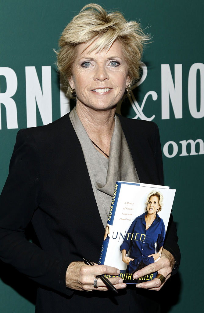 "Meredith Baxter promotes her new book ""Untied: A Memoir of Family, Fame, and Floundering"" at Barnes & Noble Union Square on March 2, 2011 in New York City. Meredith Baxter"