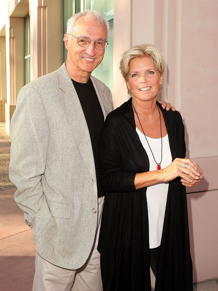 "Michael Gross and Meredith Baxter arrive at the Academy Of Television Arts & Sciences Presents ""A Salute to TV Dads"" held at the Leonard H. Goldenson Theatre on June 18, 2009 in Los Angeles, California. Meredith Baxter"