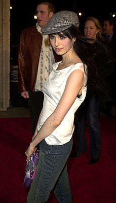 Premiere: Mia Kirshner at the Westwood premiere of Columbia's Not Another Teen Movie - 12/7/2001