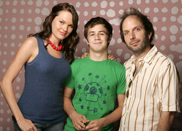 Sunny Mabrey, Michael Angarano and director Alex Steyermark 2005 Toronto Film Festival - 'One Last Thing' Portraits