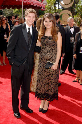 Michael Cera and Alia Shawkat 57th Annual Emmy Awards Arrivals - 9/18/2005
