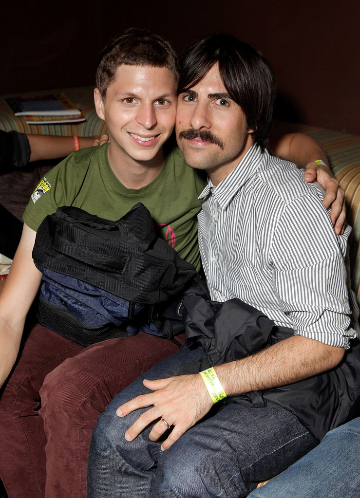 Michael Cera and Jason Schwartzman at From Dusk 'Til Con 2010 at Stingaree on July 23, 2010 in San Diego, California.
