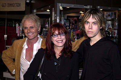 Premiere: Michael Des Barres and Pamela Des Barres with their son Nick at the LA premiere of Screen Gems' Resident Evil - 3/12/2002