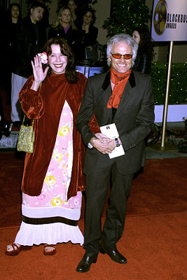 Pamela Des Barres and Michael Des Barres Blockbuster Entertainment Awards Los Angeles, 4/10/2001