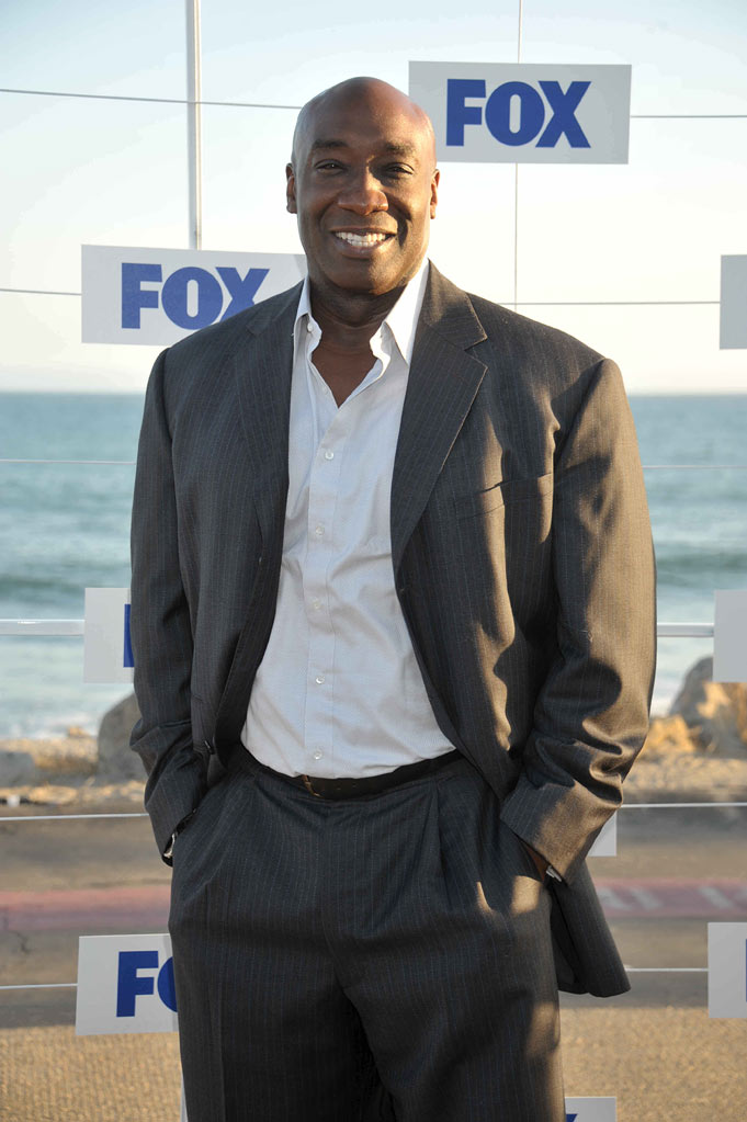 "Michael Clarke Duncan of ""The Finder"" attends the 2011 FOX Summer TCA Party at Gladstone's in Malibu, CA on August 5, 2011."