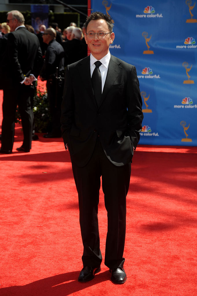 Michael Emerson arrives at the 62nd Annual Primetime Emmy Awards held at the Nokia Theatre L.A. Live on August 29, 2010 in Los Angeles, California.