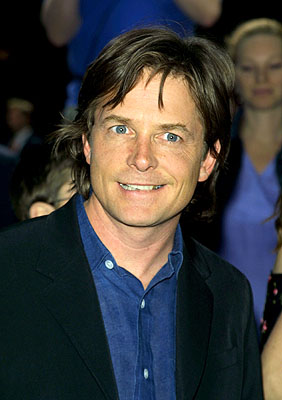 Premiere: Michael J. Fox at the New York premiere of Disney's Atlantis: The Lost Empire - 6/6/2001