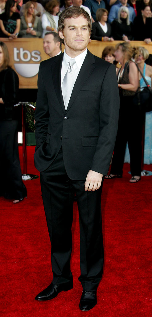 Michael C. Hall at the 13th Annual Screen Actors Guild Awards.