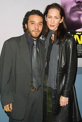 Premiere: Michael Irby with gal Susan Mayus at the New York premiere of Miramax's Pinero - 12/10/2001