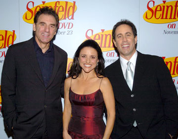 Michael Richards, Julia Louis-Dreyfus and Jerry Seinfeld 'Seinfeld' DVD Release Party New York City - 11/17/04