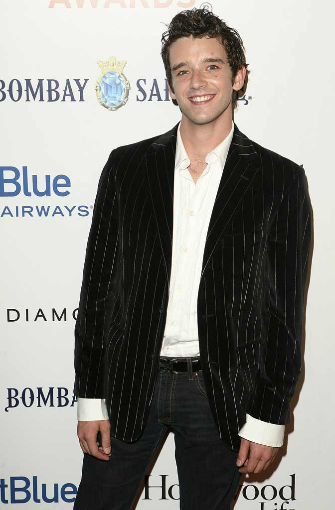 Michael Urie arrives at Movieline's Hollywood Life Style Awards sponsored by Bombay Sapphire at the Pacific Design Center.