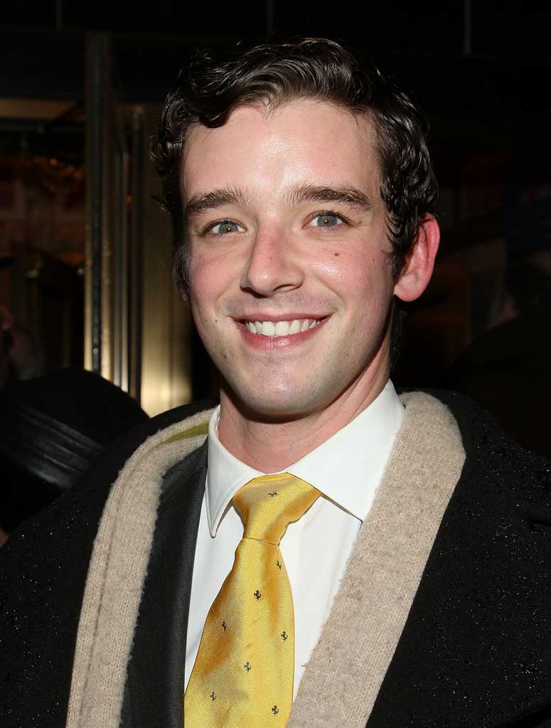 "Michael Urie attends ""November"" Broadway opening night at Ethel Barrymore Theatre."