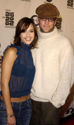 Jessica Alba and Michael Weatherly VH-1 Big in 2002 Awards - 12/4/2002
