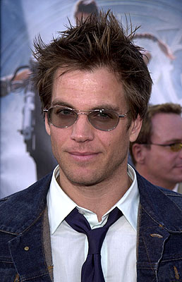 Premiere: Michael Weatherly at the Westwood premiere of Paramount's Lara Croft: Tomb Raider - 6/11/2001