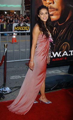 Premiere: Michelle Rodriguez at the LA premiere of S.W.A.T. - 7/30/2003 Gregg DeGuire, Wireimage.com