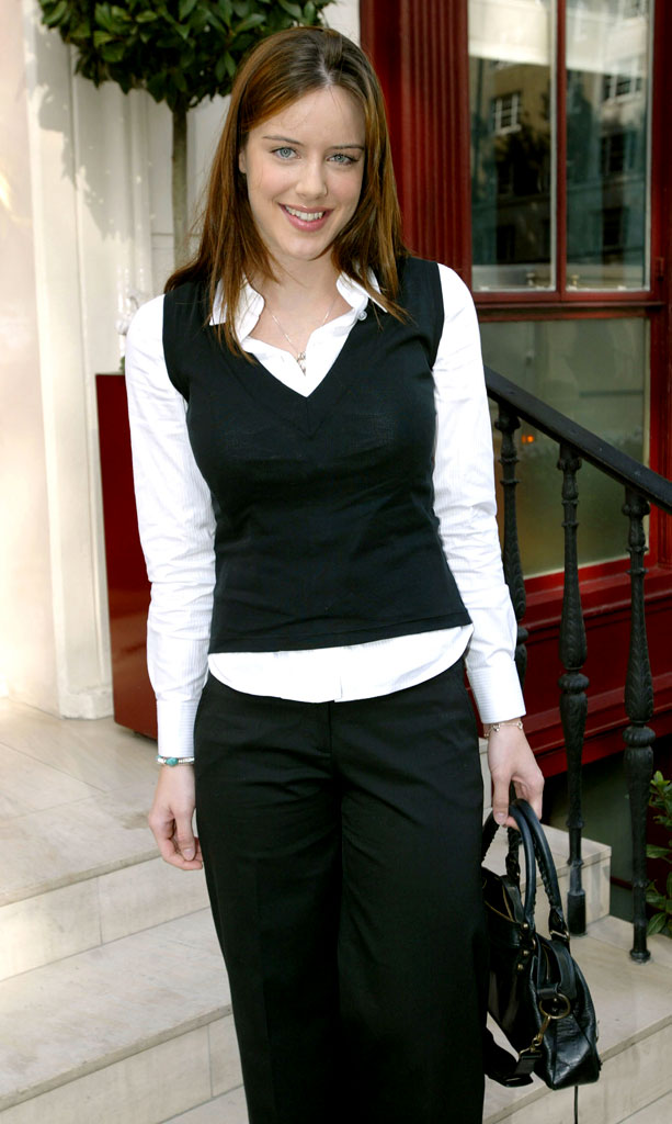 Michelle Ryan of Bionic Woman at the 2005 InStyle Shopping Awards - Winners Lunch.