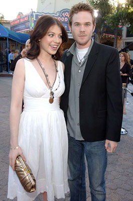 Premiere: Michelle Trachtenberg and Shawn Ashmore at the Westwood premiere of Warner Bros. Pictures' Superman Returns - 6/21/2006