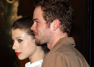 Premiere: Michelle Trachtenberg and Shawn Ashmore at the Hollywood premiere of Warner Bros. Pictures' Constantine - 2/16/2005