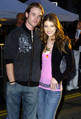 Premiere: Shawn Ashmore and Michelle Trachtenberg at the Hollywood premiere of Touchstone Pictures' Ladder 49 - 9/20/2004