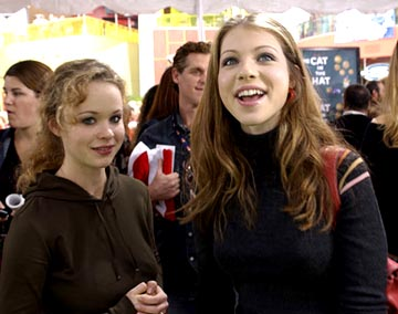 Premiere: Thora Birch and Michelle Trachtenberg at the LA premiere of Universal's Dr. Seuss' The Cat in the Hat - 11/8/2003