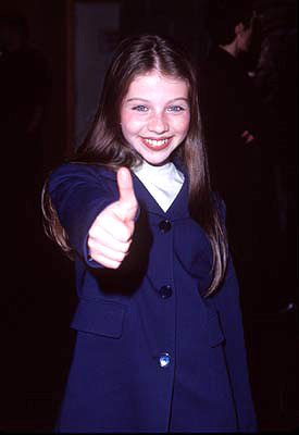 Premiere: Michelle Trachtenberg at the Beverly Hills premiere of Universal's Mercury Rising - 4/1/1998