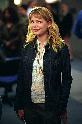 Michelle Williams as Jennifer in WB's Dawson's Creek