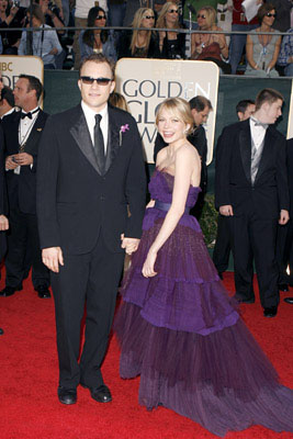 Heath Ledger and Michelle Williams 63rd Annual Golden Globe Awards - Arrivals Beverly Hills, CA - 1/16/06