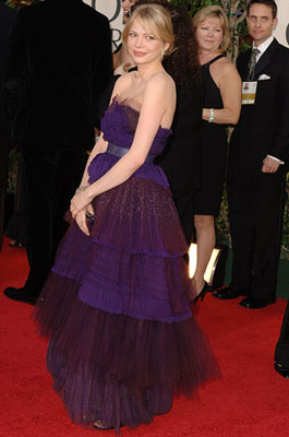 Michelle Williams 63rd Annual Golden Globe Awards - Arrivals Beverly Hills, CA - 1/16/05