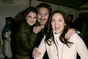 Keri Russell, Mike Binder and Erika Christensen The Upside of Anger premiere Sundance Film Festival - 1/22/2005