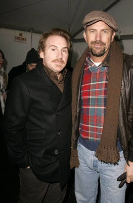 Mike Binder and Kevin Costner The Upside of Anger premiere Sundance Film Festival - 1/22/2005
