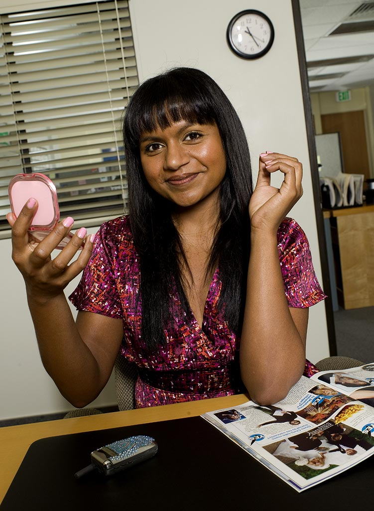 Mindy Kaling stars as Kelly on NBC's The Office.