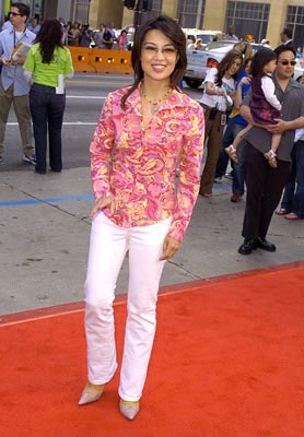 Premiere: Ming-Na at the LA premiere of Warner Bros. Scooby Doo 2: Monsters Unleashed - 3/20/2004
