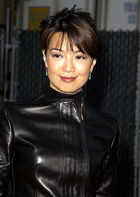 Premiere: Ming Na at the LA premiere of New Line's Austin Powers in Goldmember - 7/22/2002